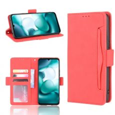 LN 5card Flip Wallet Xiaomi Mi 10 Lite 5G Red