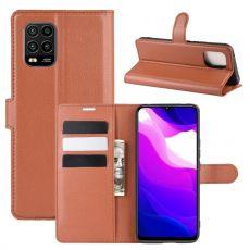 LN Flip Wallet Xiaomi Mi 10 Lite 5G Brown