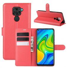 LN Flip Wallet Redmi Note 9 Red