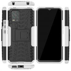 LN suojakuori tuella Xiaomi Mi 10 Lite 5G White