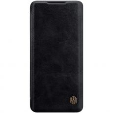 Nillkin Qin Flip Cover Mi Note 10 Lite Black