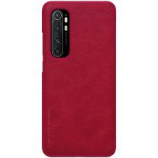 Nillkin Qin Flip Cover Mi Note 10 Lite Red