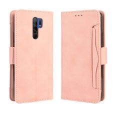 LN 5card Flip Wallet Xiaomi Redmi 9 Pink