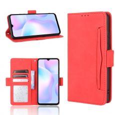 LN 5card Flip Wallet Xiaomi Redmi 9A red