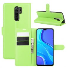 LN Flip Wallet Xiaomi Redmi 9 Green