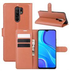 LN Flip Wallet Xiaomi Redmi 9 Brown