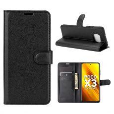 LN Flip Wallet Poco X3 NFC Black