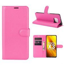 LN Flip Wallet Poco X3 NFC Rose