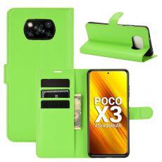 LN Flip Wallet Poco X3 NFC Green