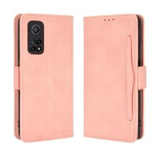 LN 5card Wallet Mi 10T/10T Pro Pink