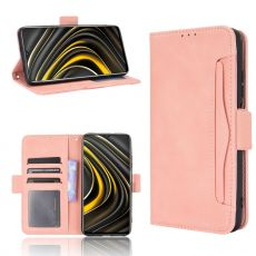 LN 5card Flip Wallet Poco M3 Pink