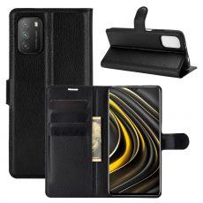 LN Flip Wallet Poco M3 Black