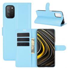 LN Flip Wallet Poco M3 Blue