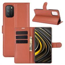 LN Flip Wallet Poco M3 Brown