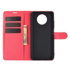LN flip wallet Redmi Note 9T 5G red