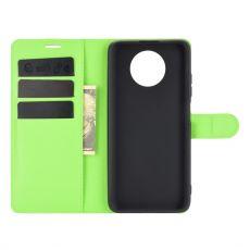 LN flip wallet Redmi Note 9T 5G green