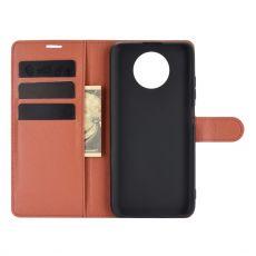 LN flip wallet Redmi Note 9T 5G brown
