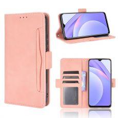 LN 5card Flip Wallet Redmi 9T pink
