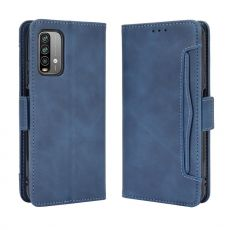 LN 5card Flip Wallet Redmi 9T blue
