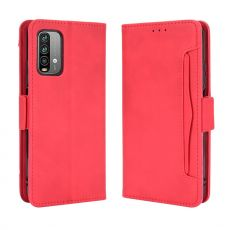 LN 5card Flip Wallet Redmi 9T red