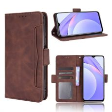 LN 5card Flip Wallet Redmi 9T brown