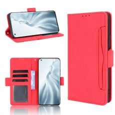 LN 5card Flip Wallet Mi 11 red