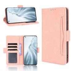 LN 5card Flip Wallet Mi 11 pink