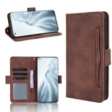 LN 5card Flip Wallet Mi 11 brown