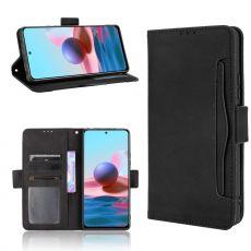 LN 5card Flip Wallet Redmi Note 10 Pro black