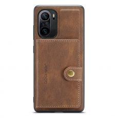 Jeehood suojakuori korttikotelolla Xiaomi Mi 11i brown