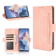 LN 5card Flip Wallet Xiaomi Mi 11 Ultra pink