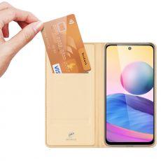 Dux Ducis Business-kotelo Redmi Note 10 5G gold