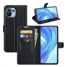 LN Flip Wallet Xiaomi Mi 11 Lite black