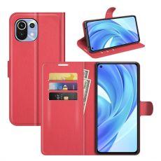 LN Flip Wallet Xiaomi Mi 11 Lite red