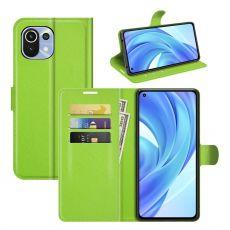 LN Flip Wallet Xiaomi Mi 11 Lite green