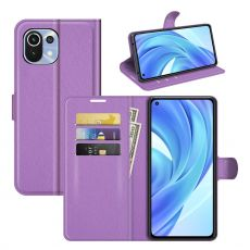 LN Flip Wallet Xiaomi Mi 11 Lite purple