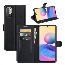 LN Flip Wallet Redmi Note 10 5G black