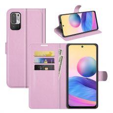 LN Flip Wallet Redmi Note 10 5G pink