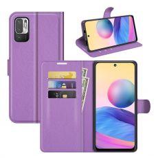 LN Flip Wallet Redmi Note 10 5G purple