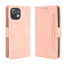LN 5card Flip Wallet Xiaomi Mi 11 Lite pink