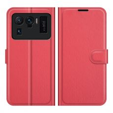 LN Flip Wallet Xiaomi Mi 11 Ultra red