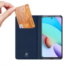 Dux Ducis Business-kotelo Xiaomi Redmi 10 blue