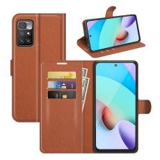LN Flip Wallet Xiaomi Redmi 10 brown