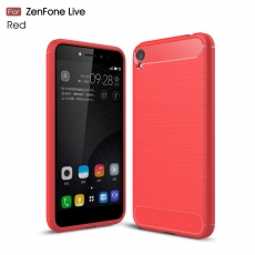 """Luurinetti TPU-suoja ZenFone Live 5"""" ZB501KL red"""