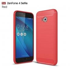 Luurinetti ZenFone 4 Selfie Pro TPU-suoja red