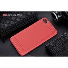 Luurinetti ZenFone 4 Max ZC554KL TPU-suoja red