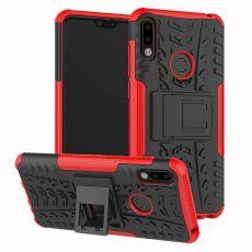 LN kuori tuella ZenFone Max Pro M2 red
