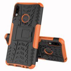 LN kuori tuella ZenFone Max Pro M2 orange