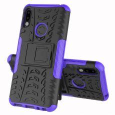 LN kuori tuella ZenFone Max Pro M2 purple