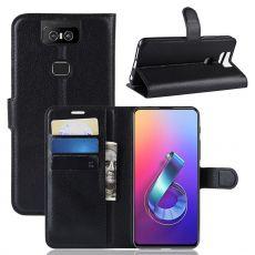 Luurinetti ZenFone 6 ZS630KL Flip Wallet Black